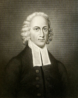Theologian Jonathan Edwards