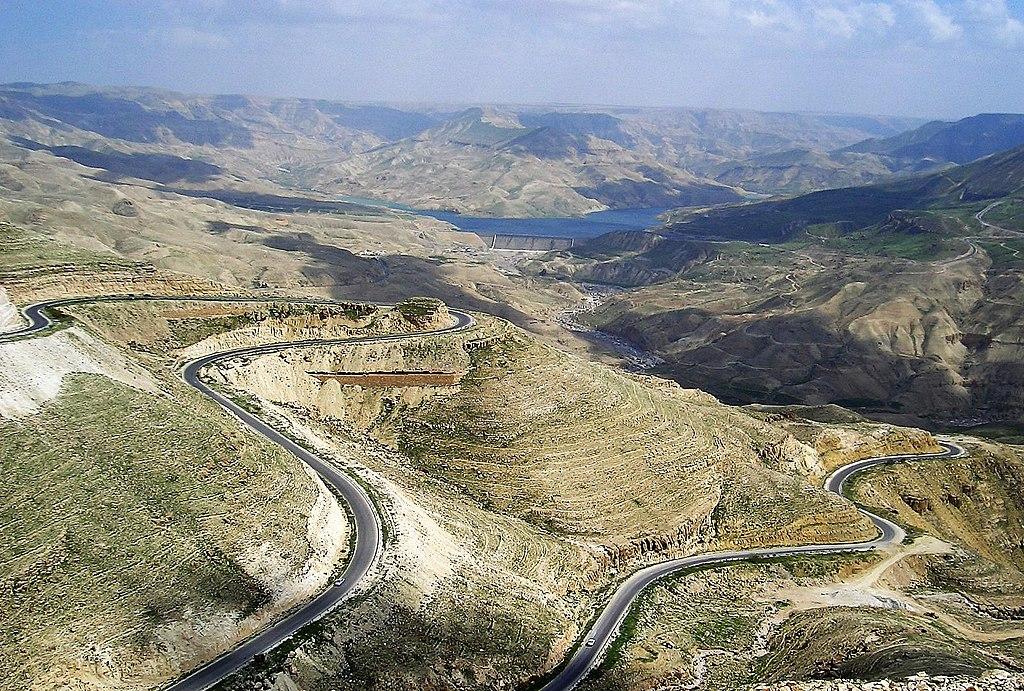 Jordanie 03 - Barrage de Wadi Al-Mujib et la route du Roi