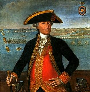 José Solano y Bote Spanish admiral