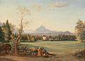 Josef Mayburger - Blick auf die Festung Hohensalzburg (1844).jpg
