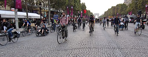 Journée sans voiture Paris 2014 (6)