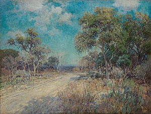 Julian Onderdonk - Image: Julian Onderdonk Road to the Hills, 1918