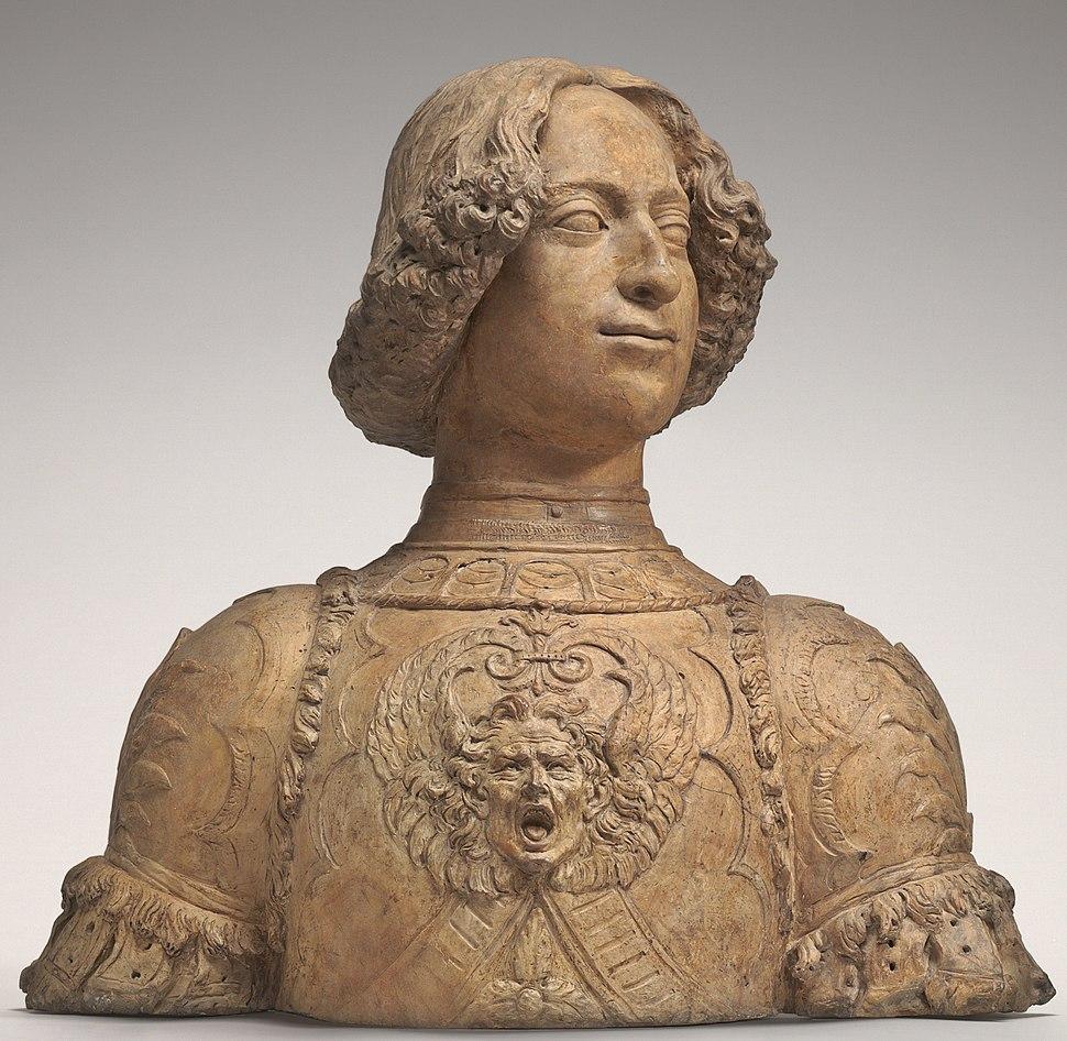 Juliano de Médici, por Verrocchio