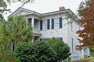 Julius A. Dargan House - Image: Julius Dargon house, Darlington, SC, US