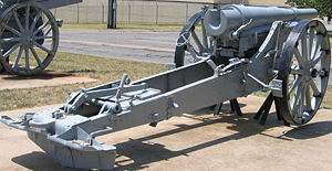 10 cm K 04 - A K 04 at the U.S. Army Field Artillery Museum, Ft. Sill, OK