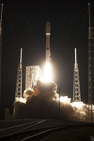 GOES-16 - The launch of GOES-R aboard an Atlas V rocket on 19 November 2016