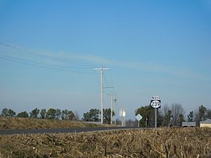 Kentucky Route 239 - KY 239 running north of KY 116