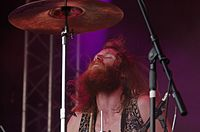 Kadavar (German Psychedelic Rock Band) (Krach Am Bach 2013) IMGP8911 smial wp.jpg