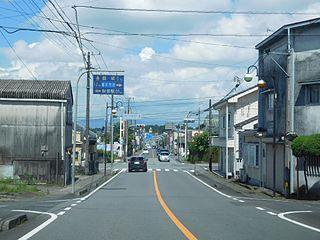 Soo, Kagoshima City in Kyushu, Japan
