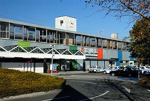 Kakegawa Station - JR Kakegawa Station south exit in January 2006