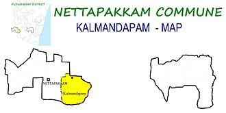 Nettapakkam Commune - Image: Kalmandapam Ward