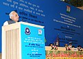 Kapil Sibal addressing at the releasing of a commemorative Postage Stamp on Indian Customs to commemorate 50 years of achievements under the Customs Act, 1962, in New Delhi on July 26, 2012.jpg
