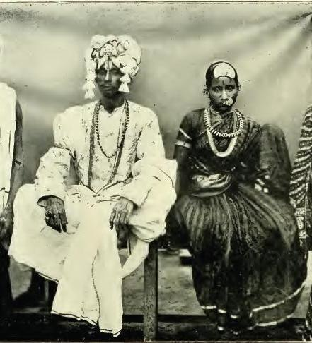 Kapu bride and groom 1909