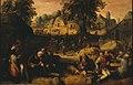 Karel van Mander (I) - Dorpstafereel - ГЭ-3055 - Hermitage Museum.jpg