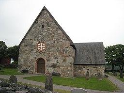 Kårsta kirke fra vest