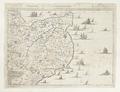 Karta över del av sydöstra England (Dover), 1744 - Skoklosters slott - 98028.tif
