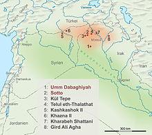 Shingal Irak Karte.Hassuna Culture Wikivisually