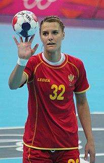 Katarina Bulatović Montenegrin handball player