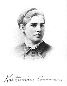 photograph of Katharine Coman
