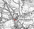 Katowice - aleja Niepodległości na mapie z 1933.jpg