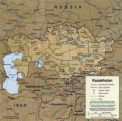 Geography of Kazakhstan - Wikipedia