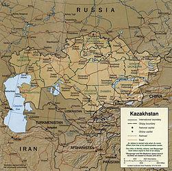 Kazakhstan 2001 CIA map.jpg