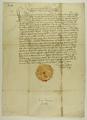 Kazimierz IV Jagiellończyk król polski nakazuje uwięzienie wszystkich tych, którzy w sprawach miejskich, głównie o nieruchomości, pozywają strony przed sądy duchown.png