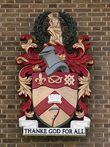 Keele Library arms 0838.jpg