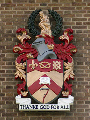 Keele University - Keele University coat of arms