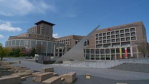 Kansai Science City - Keihanna Plaza in Seika