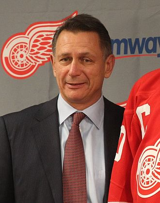 Ken Holland - Ken Holland at a press conference in 2013