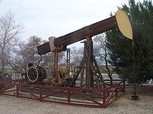 Pumpjack - Image: Kern West Oil Museum (3354873631)