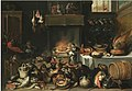 Kessel, Ferdinand van - Apes celebrating in the kitchen - 17th century.jpg