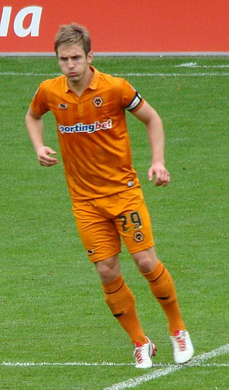 Kevin Doyle - Doyle playing for Wolves in 2012