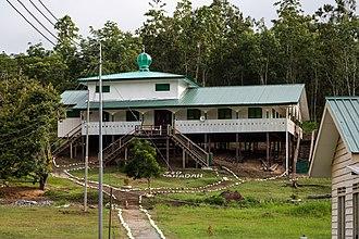 Nabawan District - Image: Kg Padang Sapulut Sabah Masjid As Syahadah 01