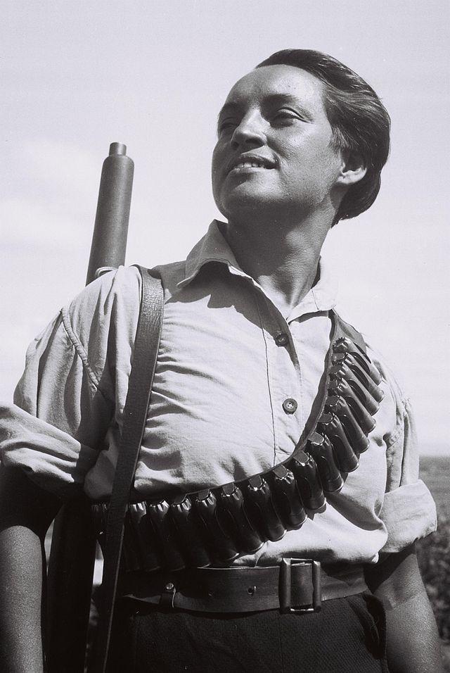 A Kibbutz Guard 1936