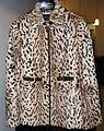 Kid fur skin jacket, wild cat printed.jpg