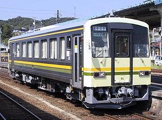 Kisuki Line - Image: Kiha 120 5 Kisuki
