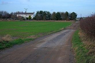 Kilton Thorpe - Approaching Kilton Thorpe from the south