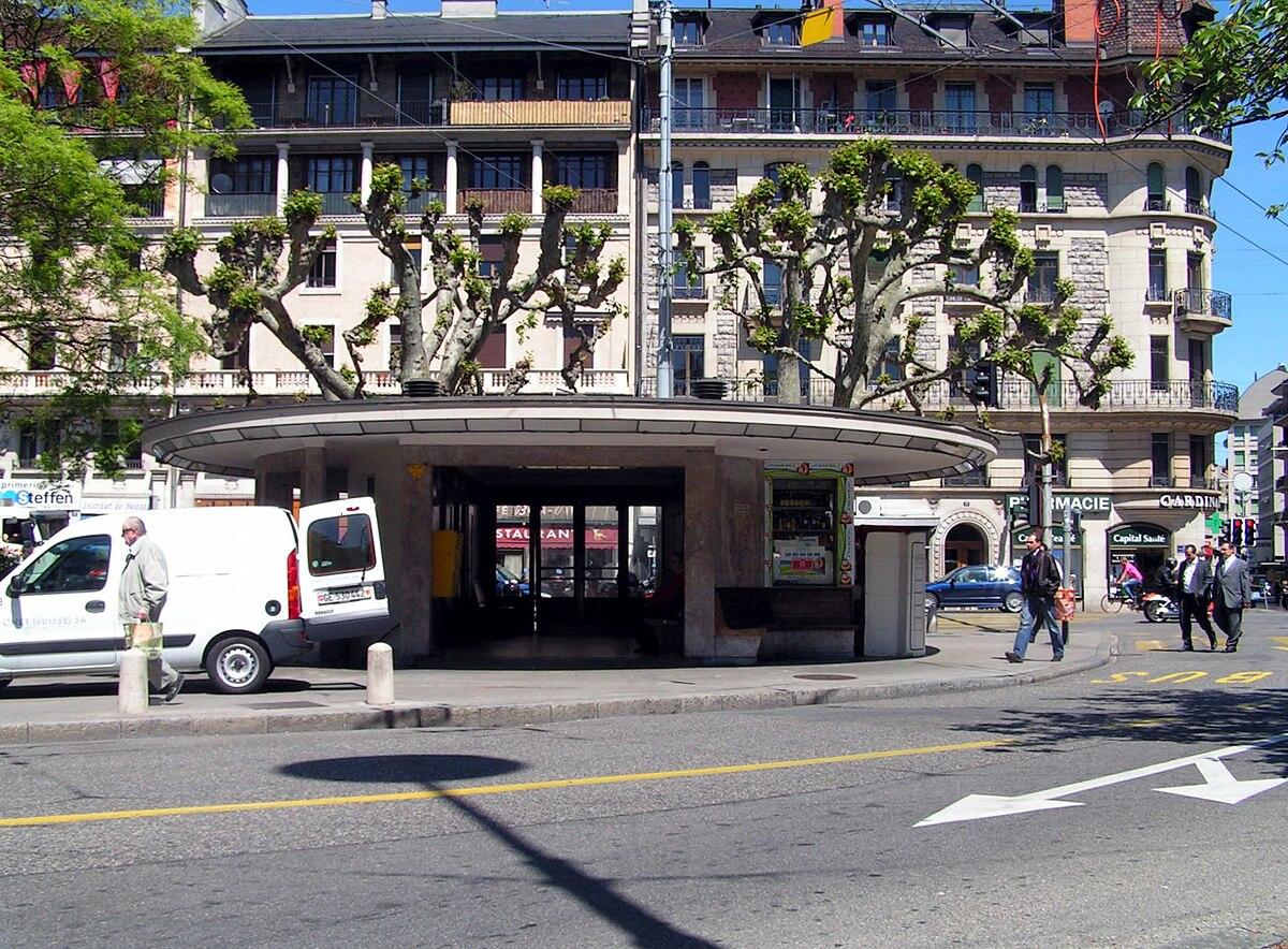 Kiosques du tramway de gen ve wikip dia for Construction piscine geneve