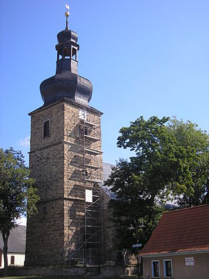 Die Kirche von Roßleben