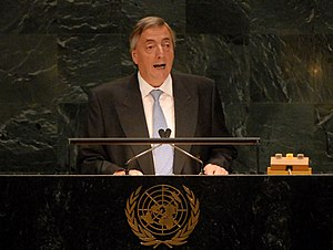 Union of South American Nations - Néstor Kirchner, first Secretary General of UNASUR