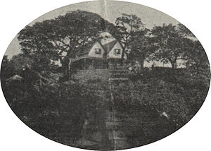 Kirribilli House - Kirribilli House in 1920 just before it was resumed by the Government.