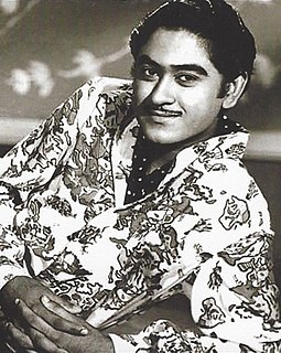 Kishore Kumar Indian actor/singer