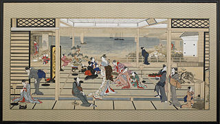 painting by Kitagawa Utamaro