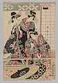 Kitagawa Utamaro - Yoshiwara Women Looking into the Street at Springtime - 1940.1037 - Cleveland Museum of Art.jpg