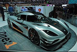 7. Koenigsegg one:1