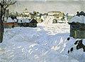 Konstantin Gorbatov - Old Town. Winter.jpg