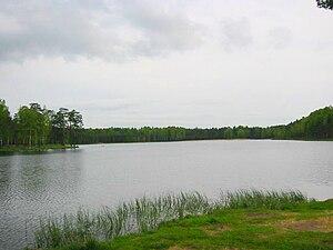 Vsevolozhsky District - Lake Korkinskoye in Vsevolozhsky District