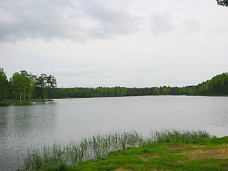 Vsevolozhsky District - Lake Korkinskoye in Vsevolozhsky District